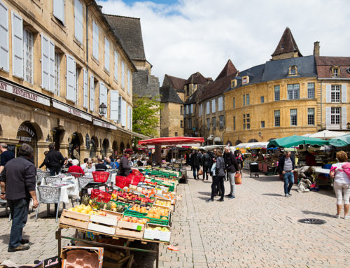 Sarlat, ville médiévale en Dordogne