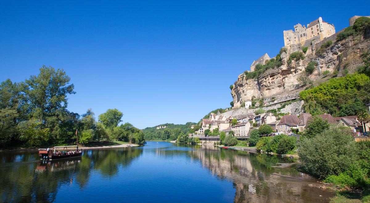 Beynac, on the Dordogne river