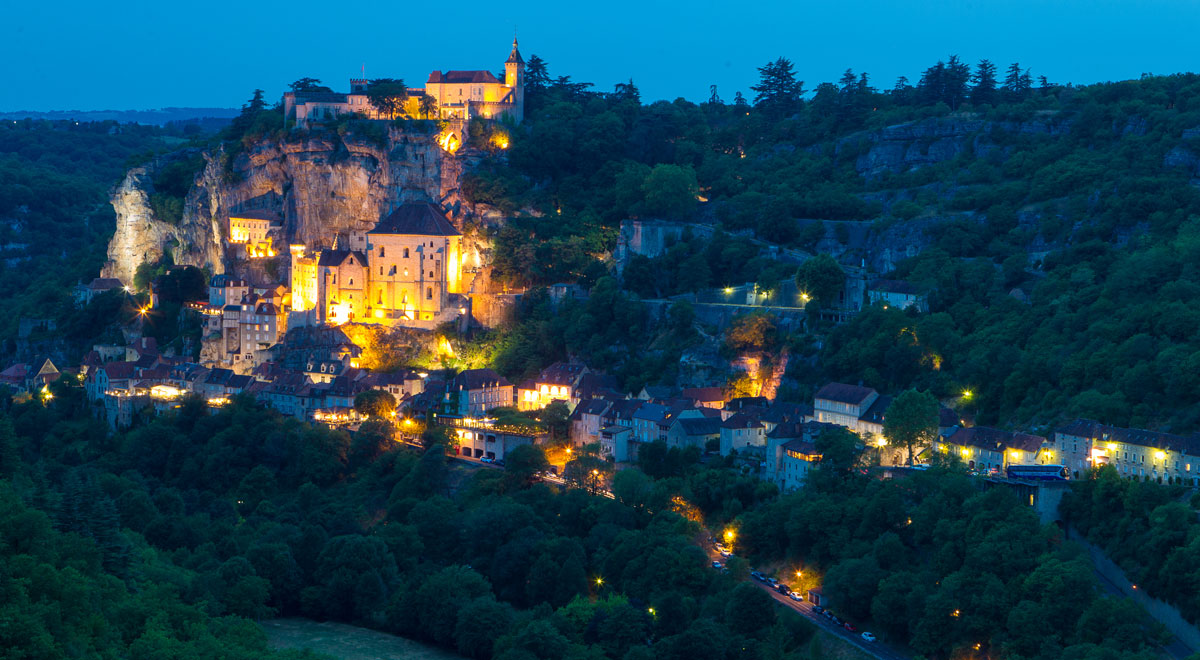 Rocamadour, one of the most beautiful village of the Lot